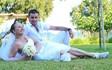 Lidia's and Stanislav's symbolic beach wedding