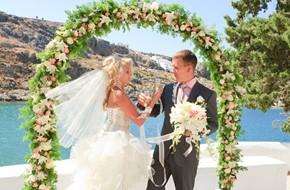 Evgenia's and Valery's wedding ceremony