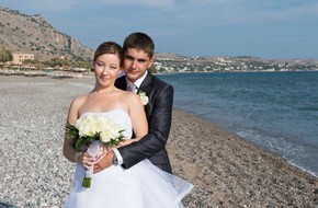 Maria's and Anton's classical wedding ceremony