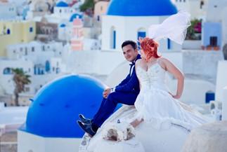 Ludmila's and Ruslan's romanitc getaway wedding