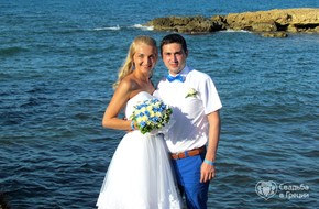Symbolic wedding ceremony Olesya and  Evgeniy at family circle