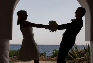 Официальное бракосочетание Елены и Никиты на Родосе