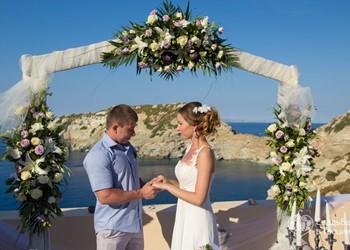 Символическая церемония Кристины и Константинa на Крите