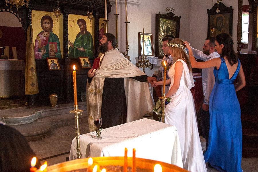 Венчание в православной церкви в греции
