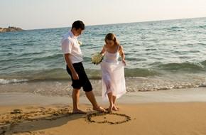 Романтическая церемония Елены и Павла