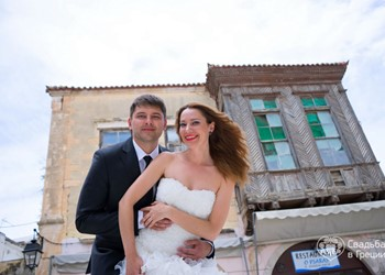 Julia's and Alexey's romantic photosesion in Rethymno