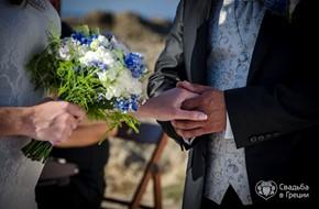 Солнечная свадебная церемония  Людмилы и Дениса
