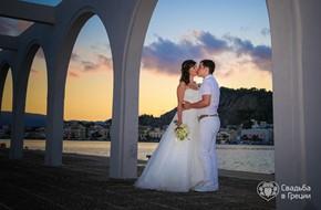 Романтическая церемония Инны и Степана в Бохали