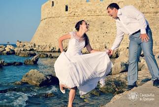 Фотосеccия, вдохновленная древнегреческой тематикой  Екатерины и Игоря