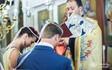 Orthodox wedding ceremony of Victoria and Oleg