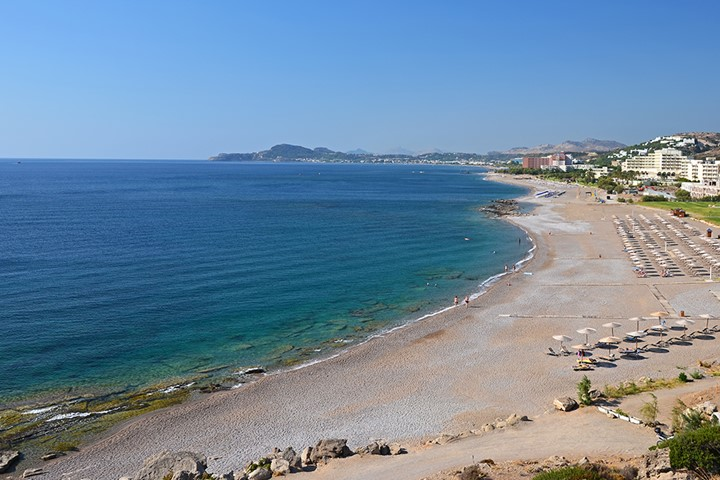 Пляж Faliraki, Родос