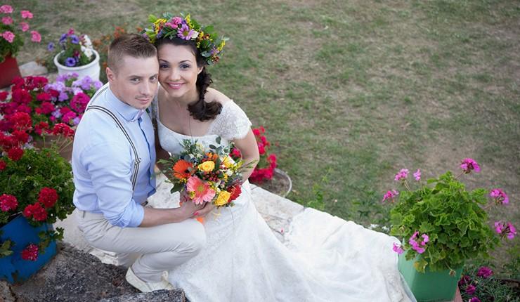 Рустикальная свадьба на Крите