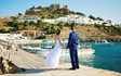 Rodos, Symbolic  ceremony, A wedding by the sea on the island of Rhodes