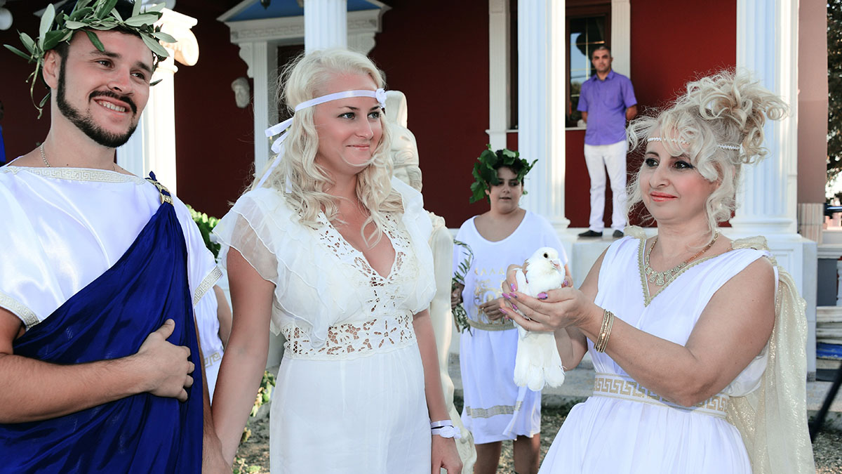Greek ancient wedding