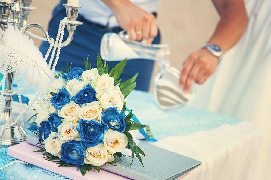 Роскошная свадьба у моря на Родосе