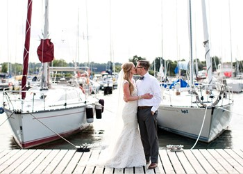 A wedding on a yacht on the island of Zakynthos