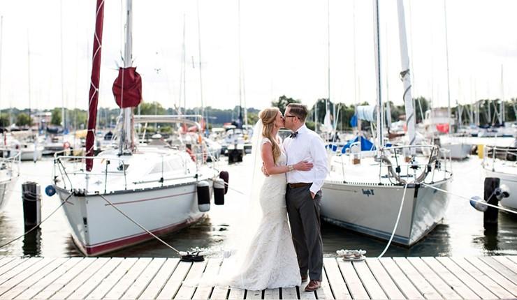 Свадьба на яхте на Закинфе