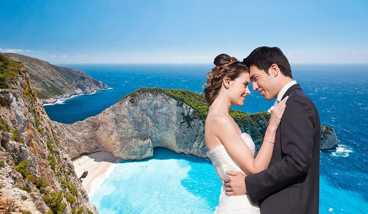 Свадьба на пляже Навагио