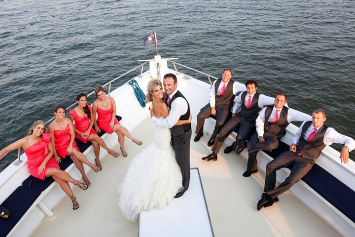 Yacht wedding in Athens, Attika