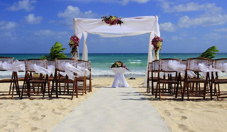 Роскошная свадьба у моря в Афинах