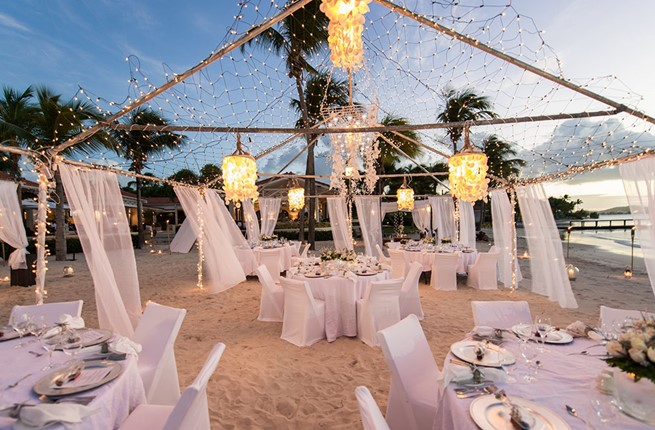 A luxury wedding at the seaside on the island of Zakynthos
