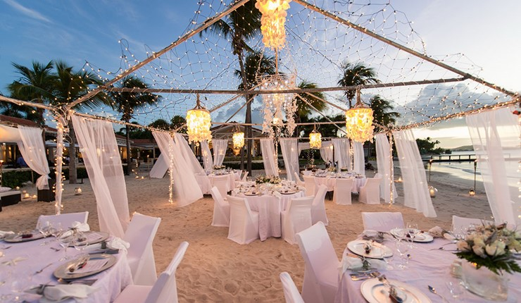 Роскошная свадьба у моря на Закинфе