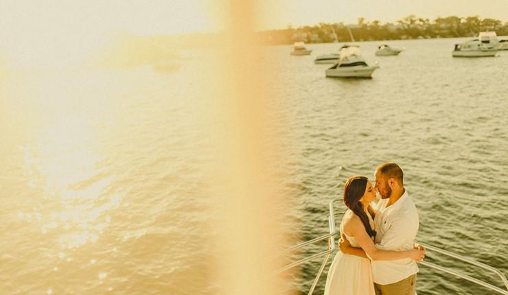Свадьба на яхте на Корфу