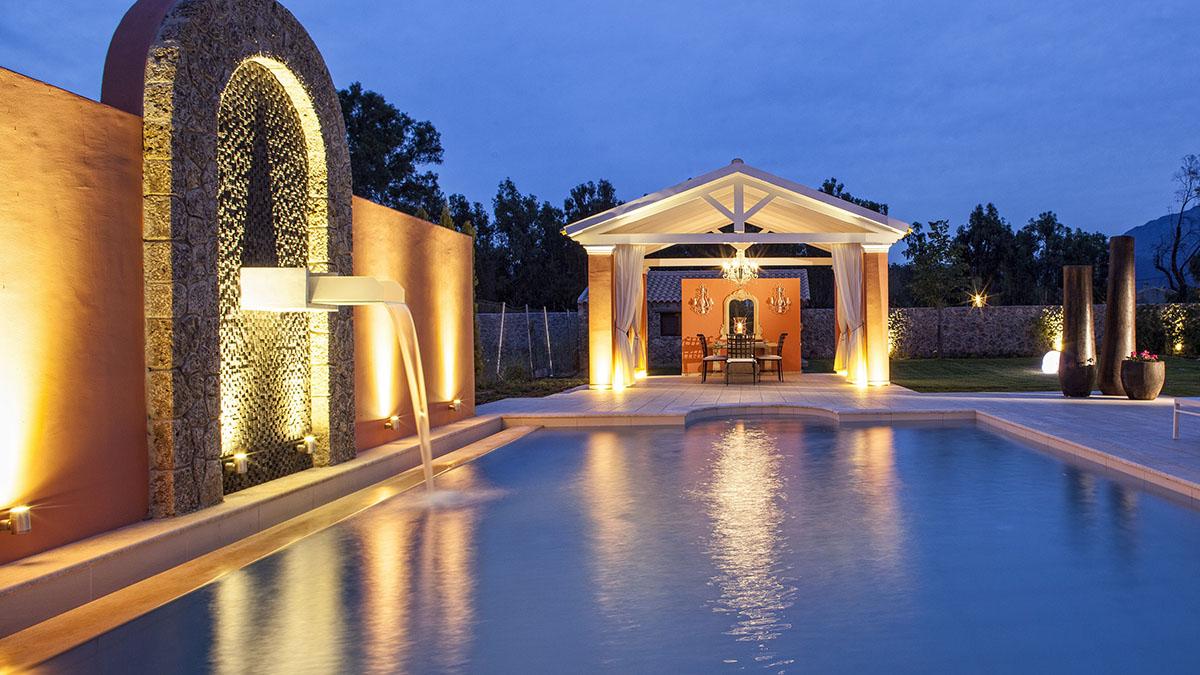 A Wedding Ceremony In Villa On Corfu