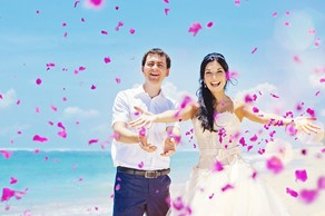 Symbolic  ceremony, A wedding by the sea on Peloponnese