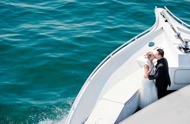 A wedding on a yacht on Peloponnese