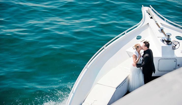 Свадьба на яхте на Пелопоннесе