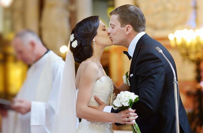 A church wedding in the Peloponnese