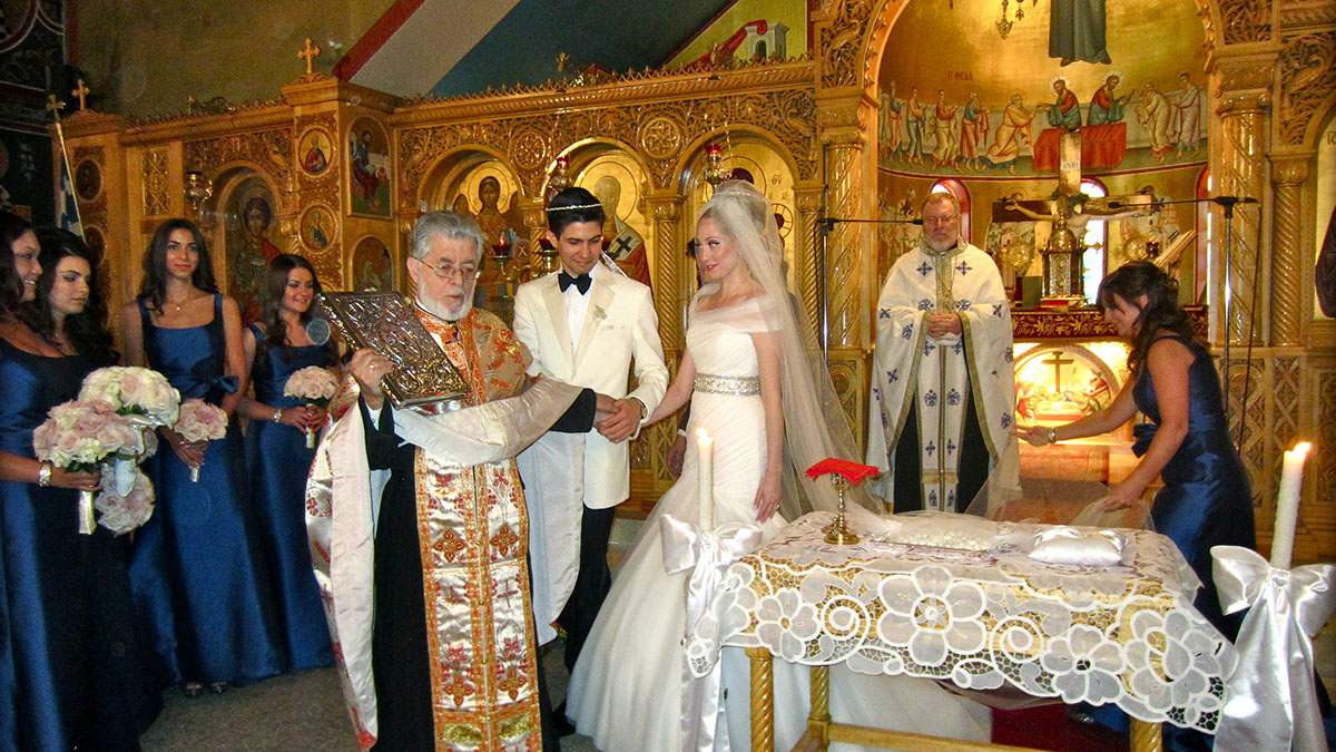 A Church Wedding In The Russian Athens