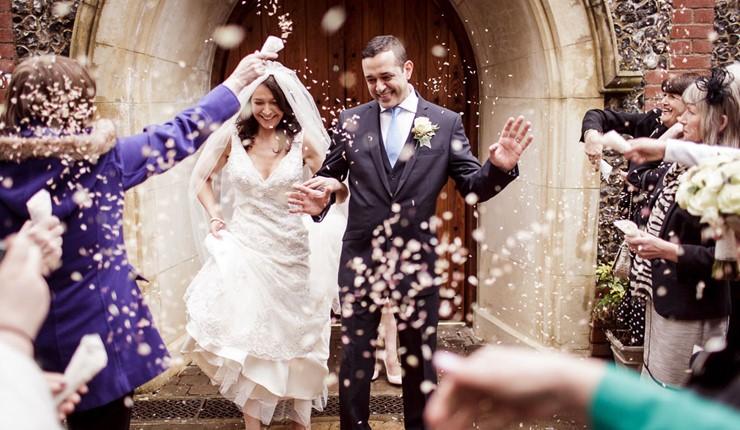 Венчание в церкви в Афинах