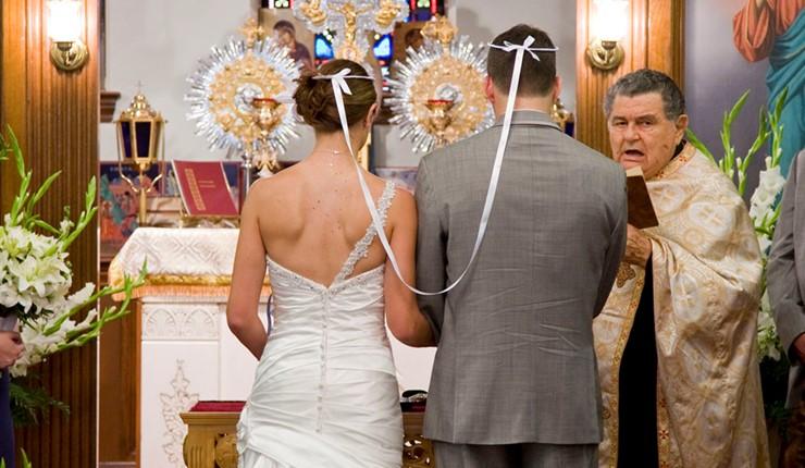 Венчание в церкви Богородицы Хрисопиги