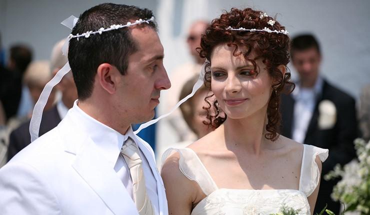 Венчание в церквушке Пантократора на Пондикониси