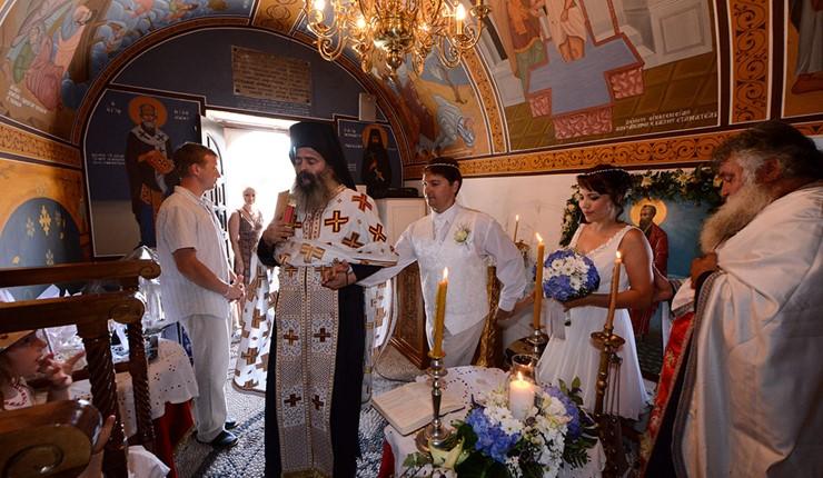 Венчание в церкви на Косе