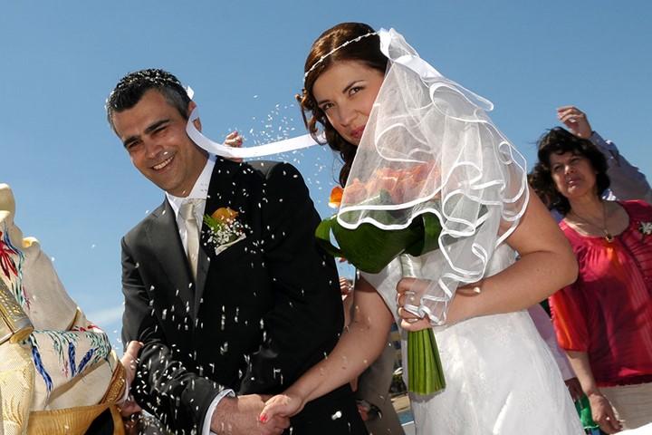 Венчание в церкви Св. Константина и Елены, Крит