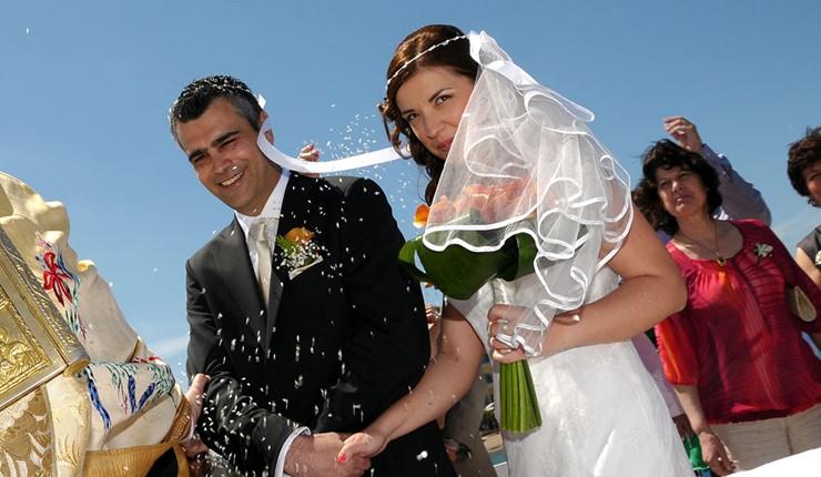 Венчание в церкви Св. Константина и Елены
