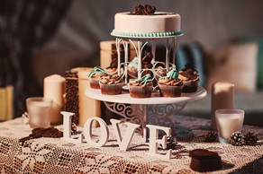 , Civil  ceremony | Symbolic  ceremony | , Chocolate&Coffee-inspired style