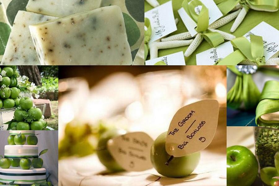 Сочное зеленое яблоко на Крите