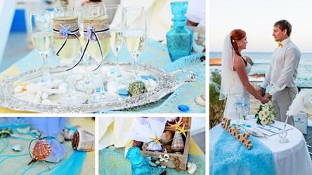 A wedding on a yacht on the island of Crete