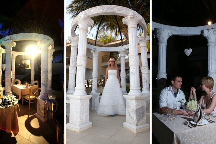 Luxury wedding in the Rahoni Cronwell Park Hotel, Halkidiki