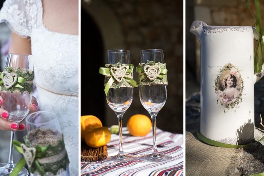 Wedding at a vineyard on Crete