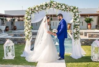Венчание Дины и Самвела на Крите