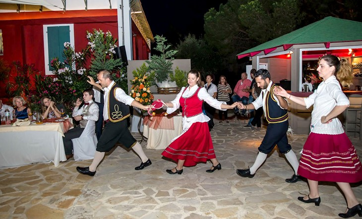 Symbolic wedding  ceremony on Zakynthos