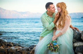 Vows renewal ceremony for Eugenia and Eugeniy