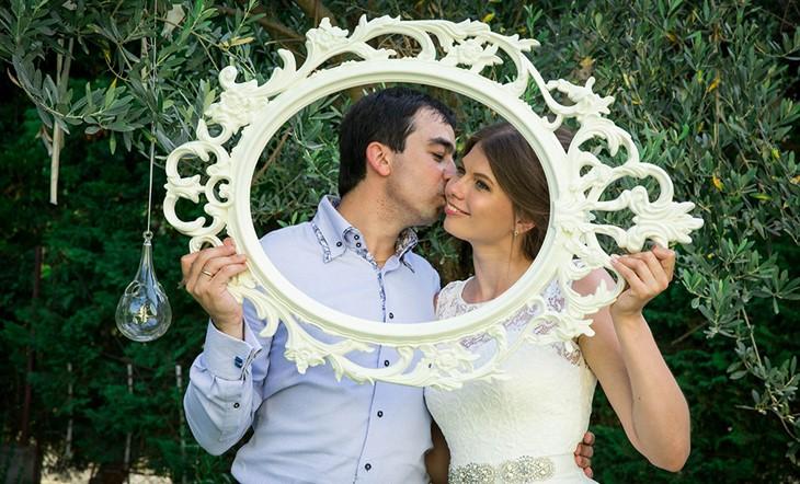 Символическая церемония Наталии и Руслана на Родосе