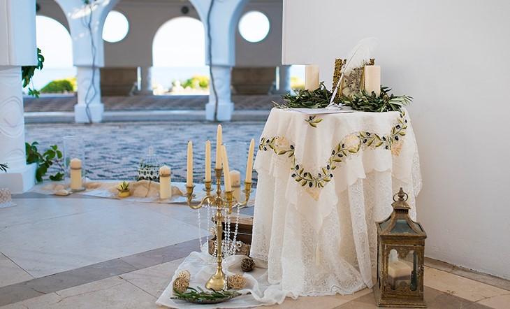 Символическая церемония Евгении и Димитрия на Родосе