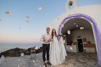 Символическая церемония Екатерины и Андрея